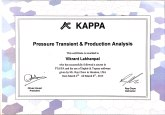 Certified Pressure Transient and Production Analysis by Kappa Engineering.